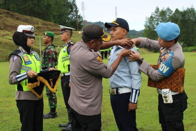 Polres Solok Apel Gelar Pasukan Operasi Lilin Singgalang 2019