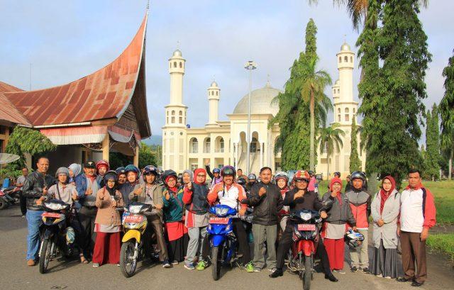 Touring Motor Kemenag Kab. Solok, Kunjungi Pesantren dan Madrasah di Solok Utara