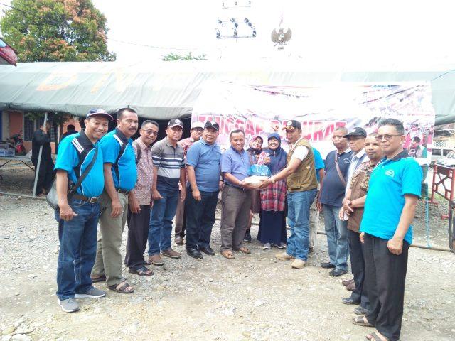 MKKS SMP Kab. Solok Tebar Bantuan di Tiga Kabupaten
