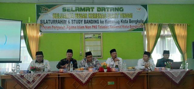 Kunjungi Bengkulu, Bimas Islam Kemenag Bukittinggi Studi Komperatif