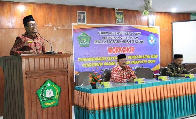 Guru PAI SD Kab. Solok Ikuti Workshop PKB