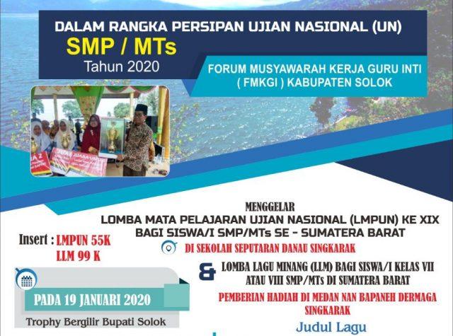 FMKGI Kabupaten Solok, Satukan Sumbar Lewat LMPUN dan LLM