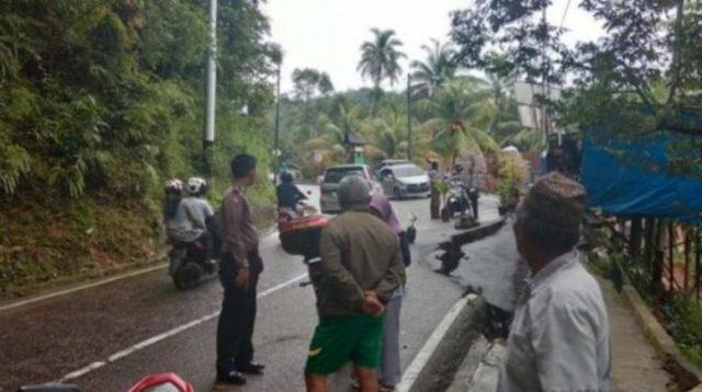 Jalan Terban, Akses Menuju Sawahlunto Terancam