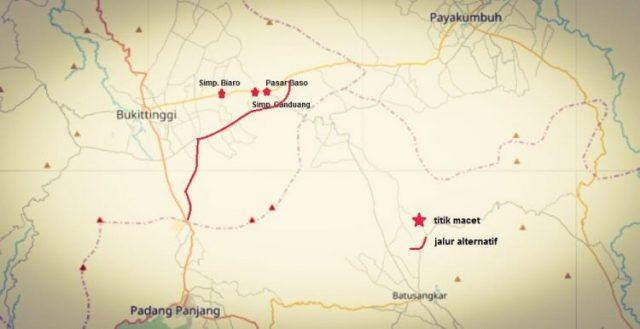 Antisipasi Polres Padang Panjang Terhadap Macet Menuju Bukittinggi