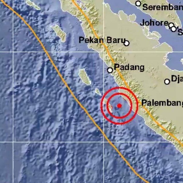 Gempa Guncang Solok Sekitarnya