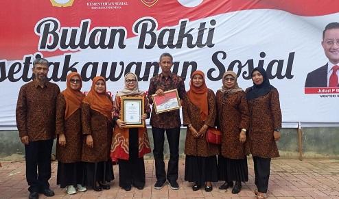 Ramlan Nurmatias, Satu-Satunya Walikota di Indonesia Terima Penghargaan Kesetiakawanan Sosial Nasional