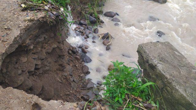 Jembatan Ambruk, Sawah Kandang - Padang Kunik Terputus
