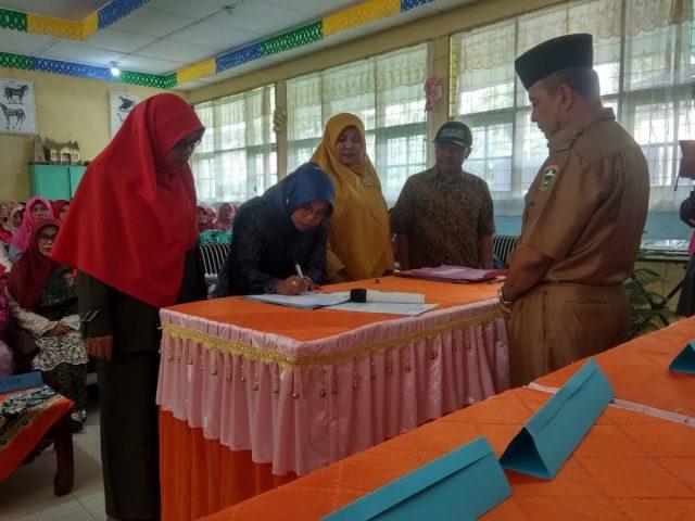Sertijab 8 Kepala SMP di Lembah Gumanti, Kaum Hawa Menguasai