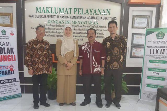 BDK Padang Lakukan EDP ke Kemenag Bukittinggi
