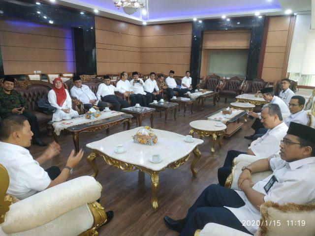 Jajaran Kemenag Temu Ramah dengan Walikota Bukittinggi
