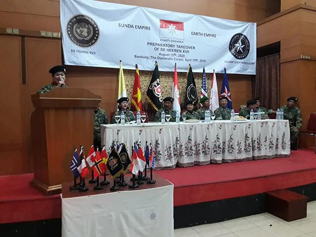 """Usai Keraton Agung Sejagat Ditangkap Munculah Kerajaan Baru """"Sunda Empire"""" di Bandung"""
