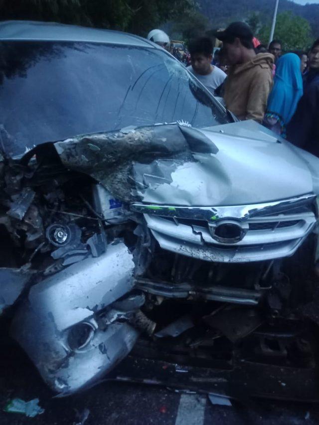Kecelakaan Beruntun di Kayu Jao, Penumpang Luka-luka