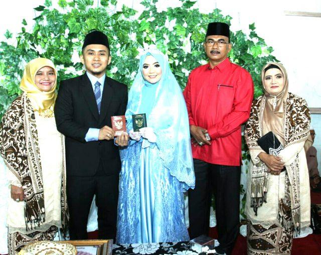 Selama 2019, 3.723 Pasangan Baru Menikah di Kab. Solok