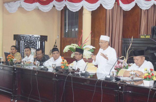 Baznas Kabupaten Solok; Potensi Zakat Rp25 Miliar, Terkumpul Rp6.8 Miliar