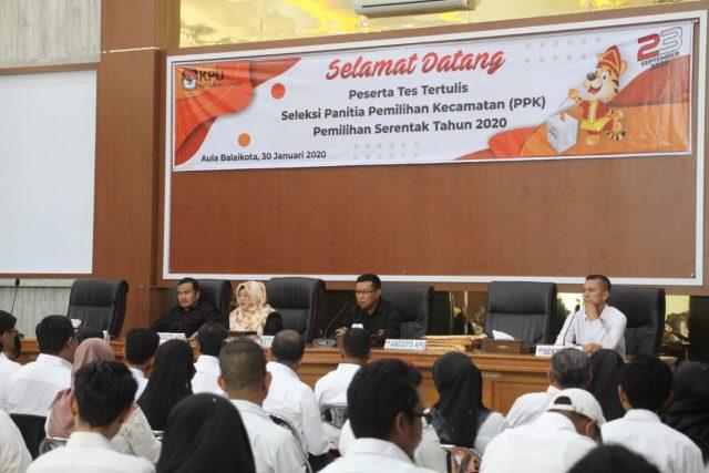 142 Peserta Ikuti Seleksi Anggota PPK di Bukittinggi