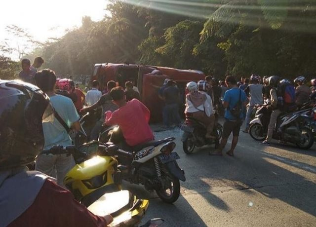 Kecelakaan Truk Tangki BBM di Sitinjau, Jalan Solok-Padang Dialihkan
