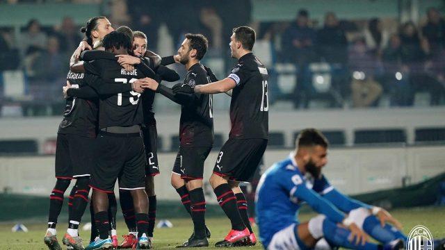 Tekuk Brescia, AC Milan Salip Cagliari