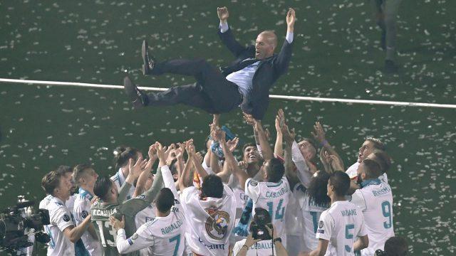 10 Trofi untuk Real Madrid Persembahan Zidane
