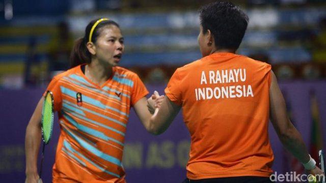 Greysia/Apriyani ke Perempatfinal Malaysia Masters