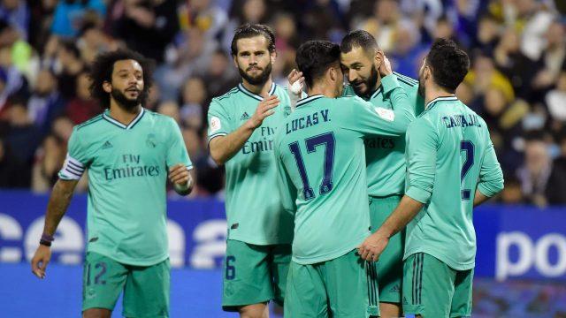 Copa del Rey: Real Madrid Gunduli Real Zaragoza 4-0