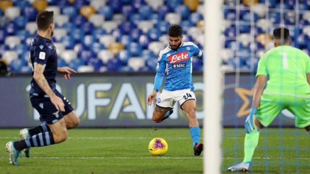 Coppa Italia: Napoli Singkirkan Lazio
