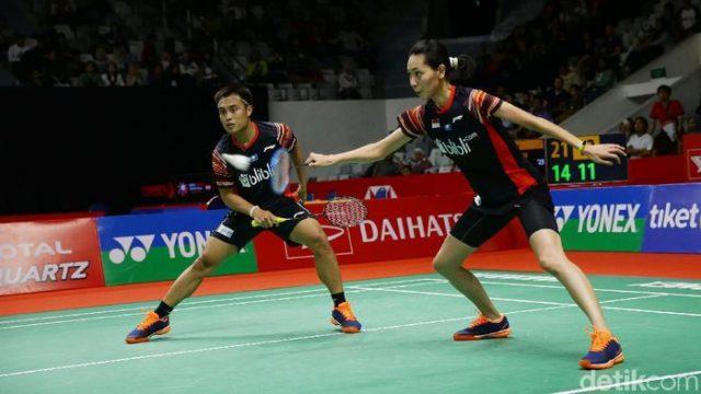 Daihatsu Indonesia Masters: Hafiz/Gloria Tumbang