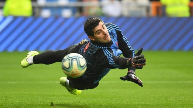 Courtois Tampil Baik, Real Madrid Puncaki Klasemen