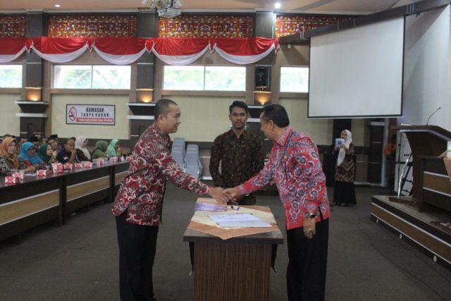 23 Pejabat Eselon IV di Sekretariat Daerah Kab. Solok Diserahterimakan