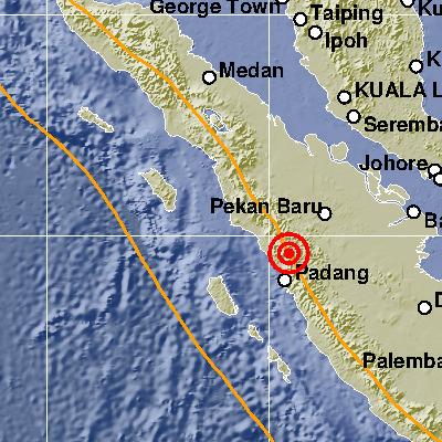 Aktivitas Sesar Sumatera Akibatkan Gempa Bumi Padang Panjang