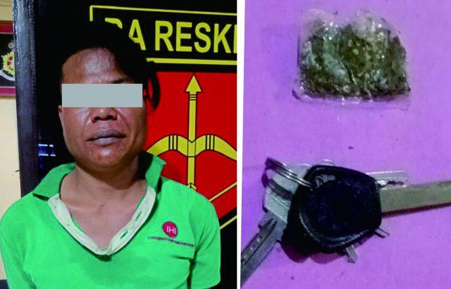 Warga Singkarak Ditangkap Karena Narkoba di Tanjung Bingkung