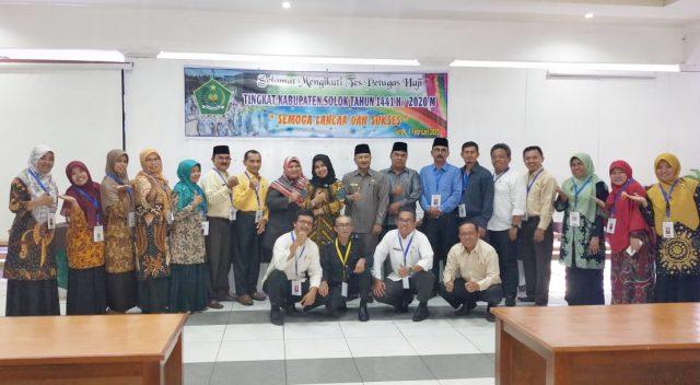 17 Peserta Ikuti Tes Rekrutmen Petugas Haji di Kab. Solok