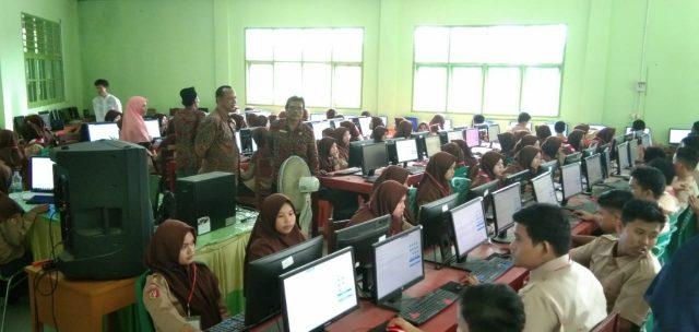 Diikuti 273 Siswa, Try Out UNBK di MTsN 2 Solok Berjalan Lancar