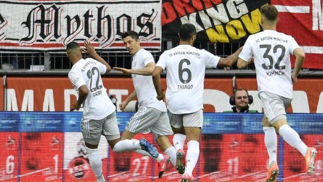 Atasi Padeborn 3-2, Bayern Munich Bertengger di Puncak Klasemen