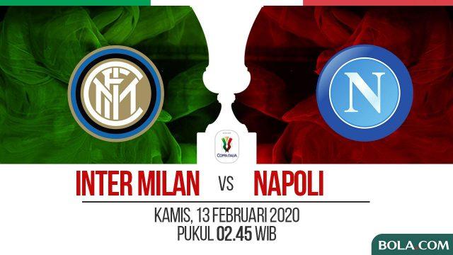 Prediksi Inter Milan vs Napoli: Tuan Rumah Difavoritkan Menang