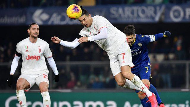 Juventus Ditekuk Hellas Verona 1-2