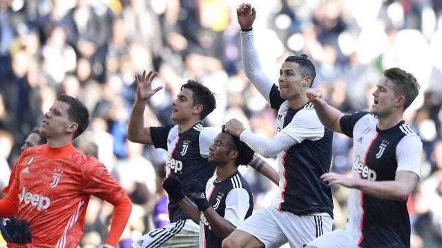Juventus Dibuntuti Inter Milan di Puncak Klasemen