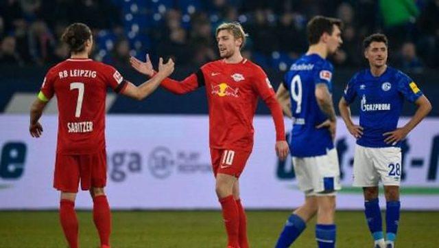 Cukur Schalke 5-0, Leipzig Geser Dortmund di Klasemen
