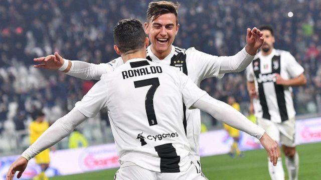 Gebuk Fiorentina 3-0, Ronaldo Catatkan Rekor