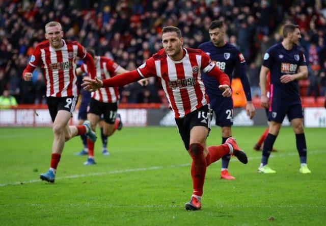 Menang atas Bournemouth 2-1, Sheffield United Buntuti Chelsea