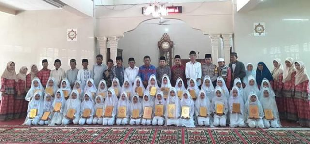 Meriahnya Khatam Qur'an di Batu Banyak Lembang Jaya