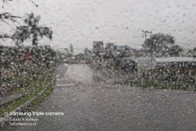 9 Daerah di Sumbar Berpotensi Hujan Lebat dan Angin Kencang