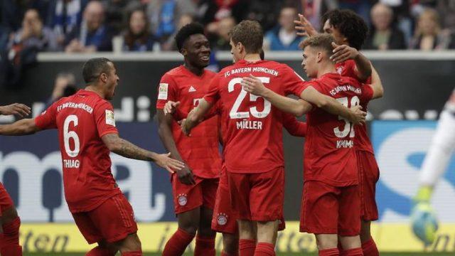 Tanpa Lewandowski, Bayern Pesta Gol ke Gawang TSG Hoffenheim