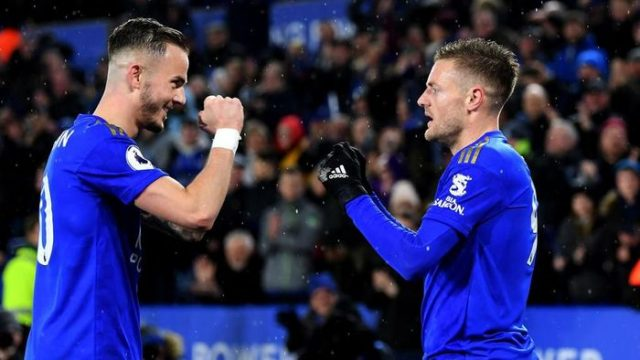 Leicester City Bantai Aston Villa 4-0 di King Power Stadium