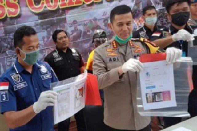 Pelaku Penipuan Masker 28 Juta Ditangkap Polres Bandara Soeta
