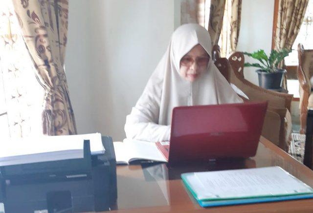 Pelayanan Seksi Haji Kemenag Bukittinggi Tetap Berjalan Baik