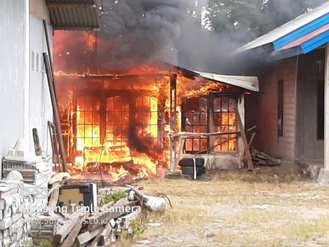 1 unit Rumah Terbakar di Kapuah Sumani