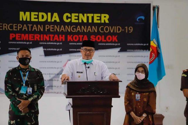Pernyataan Resmi Walikota Solok, 1 Warganya Positif Covid-19