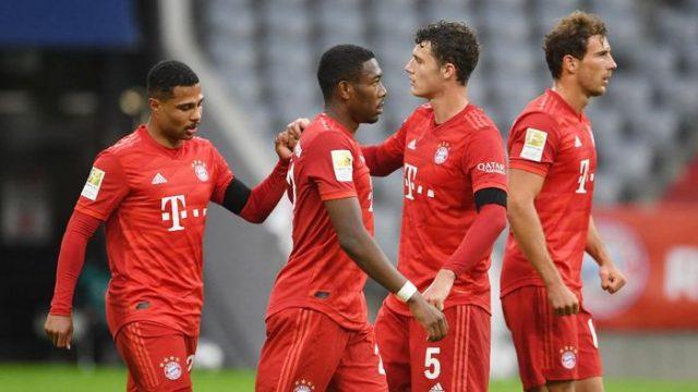 Bayern Munich Lumat Eintracht Frankfurt 5-2