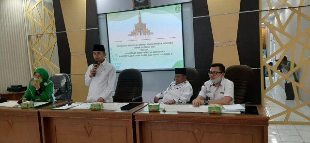 Kanwil Kemenag Sumbar Sosialisasikan KMA 494 Tahun 2020 di Bukittinggi