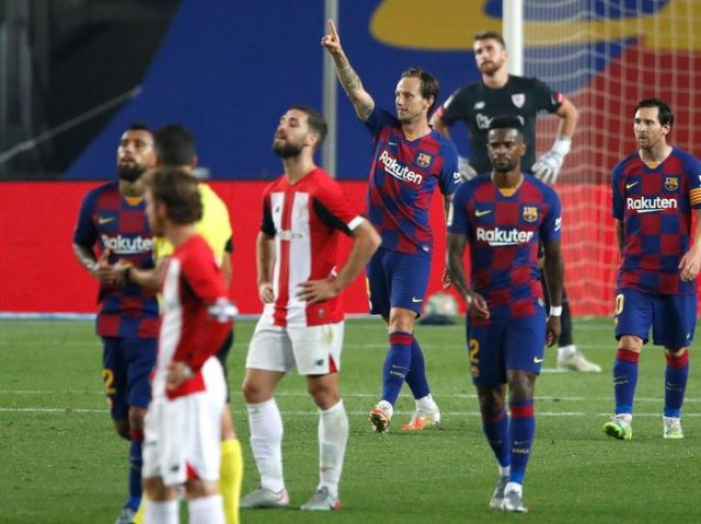 Barcelona Tekuk Bilbao 1-0, El Barca Kembali ke Puncak Klasemen